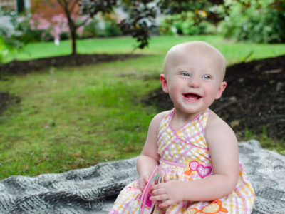 1st Birthday Backyard Mini Session