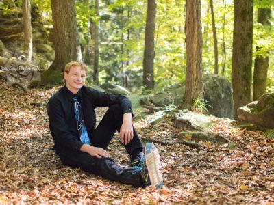 Fall Senior Session at Cuyahoga Valley National Park
