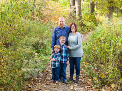 Fall Family Portraits in Cuyahoga Valley National Park