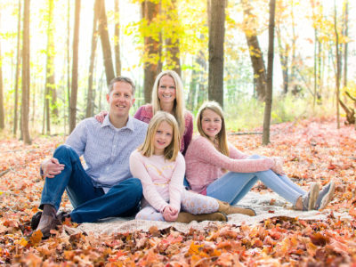 Autumn Family Session in the Morning