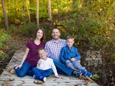 Afternoon Fall Family Photos at CVNP