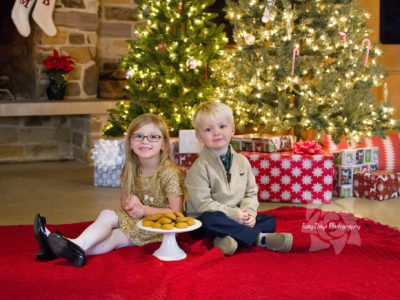 Christmas Mini Sessions in Chagrin Falls