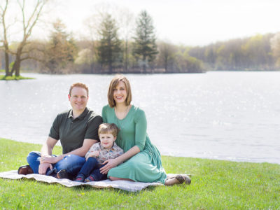 Spring Family Portraits at Hudson Springs