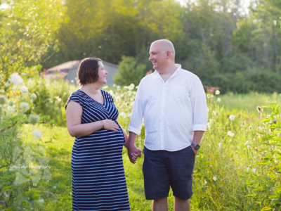 Late Summer Evening Maternity Session