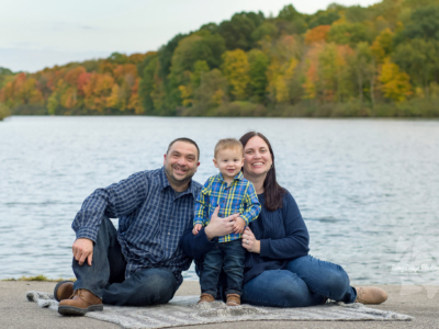 Family of Three Fall Photos