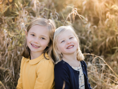 Autumn Afternoon Kids Photo Session in Hudson
